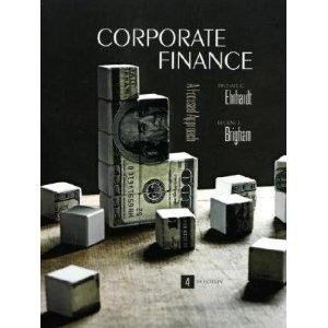Free Download Corporate Finance by Eugene Brigham & Michael Ehrhardt